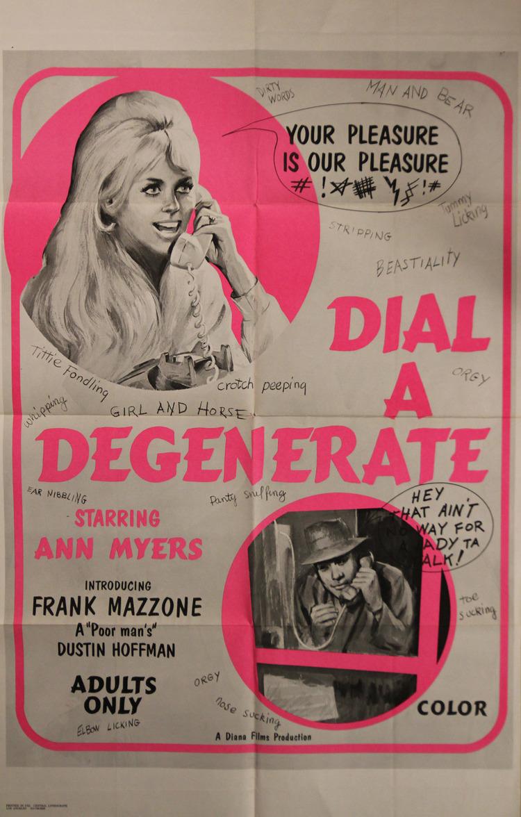 Dial-A-Degenerate - US 1 Sheet