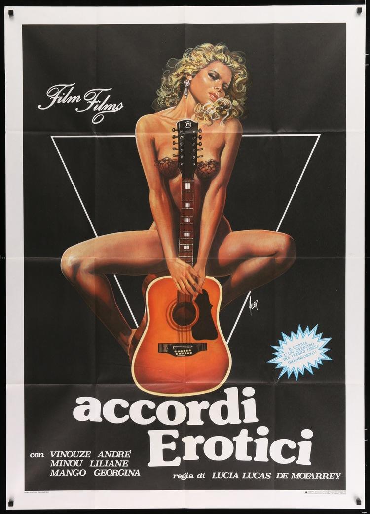 Erotic Agreements - Italian 2F Manifesto