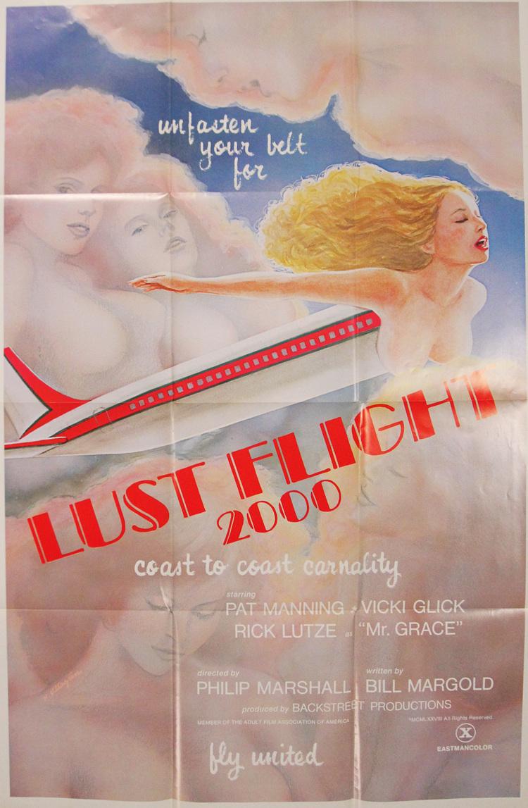 Lust Flight 2000 - US 1 Sheet