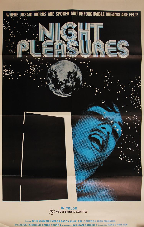 Night Pleasures - US 1 Sheet