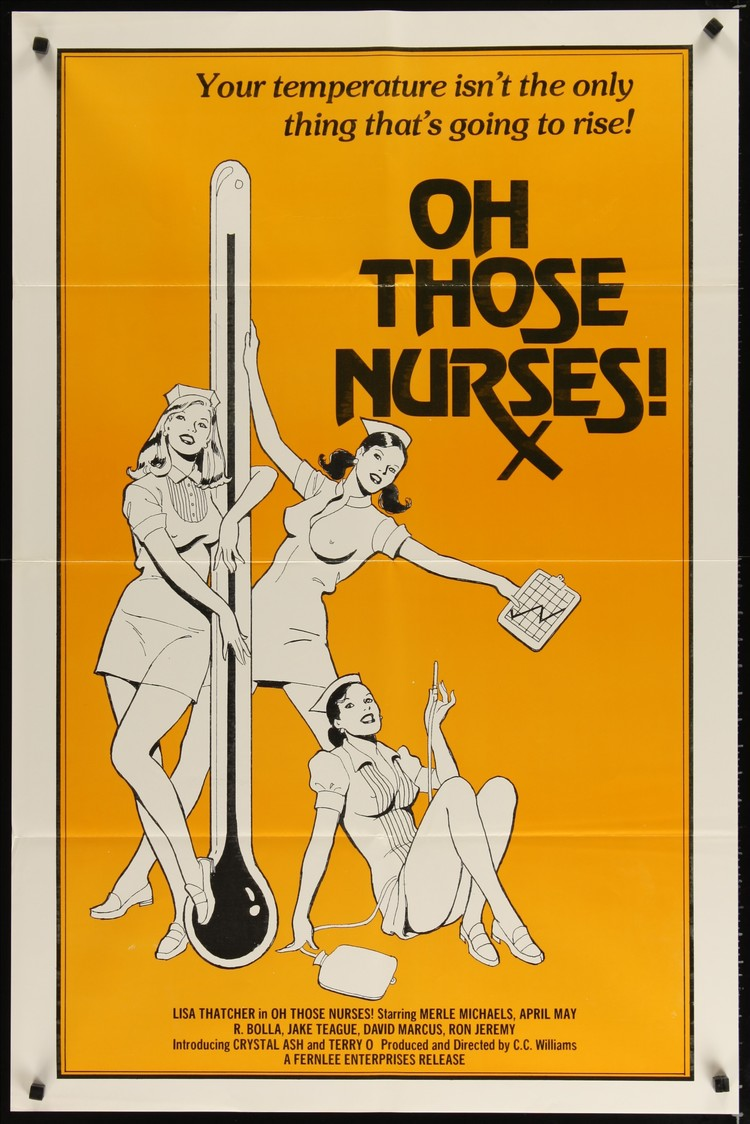 Oh Those Nurses! - US 1 Sheet