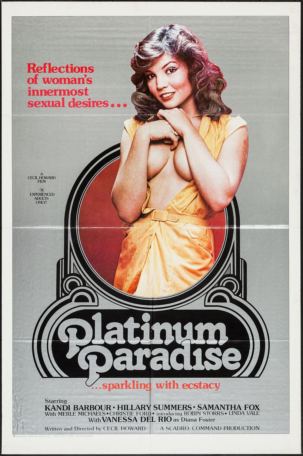 Platinum Paradise - US 1 Sheet