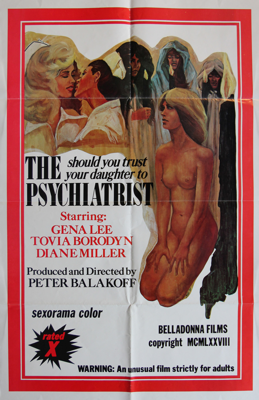 The Psychiatrist - Italian 2F Manifesto