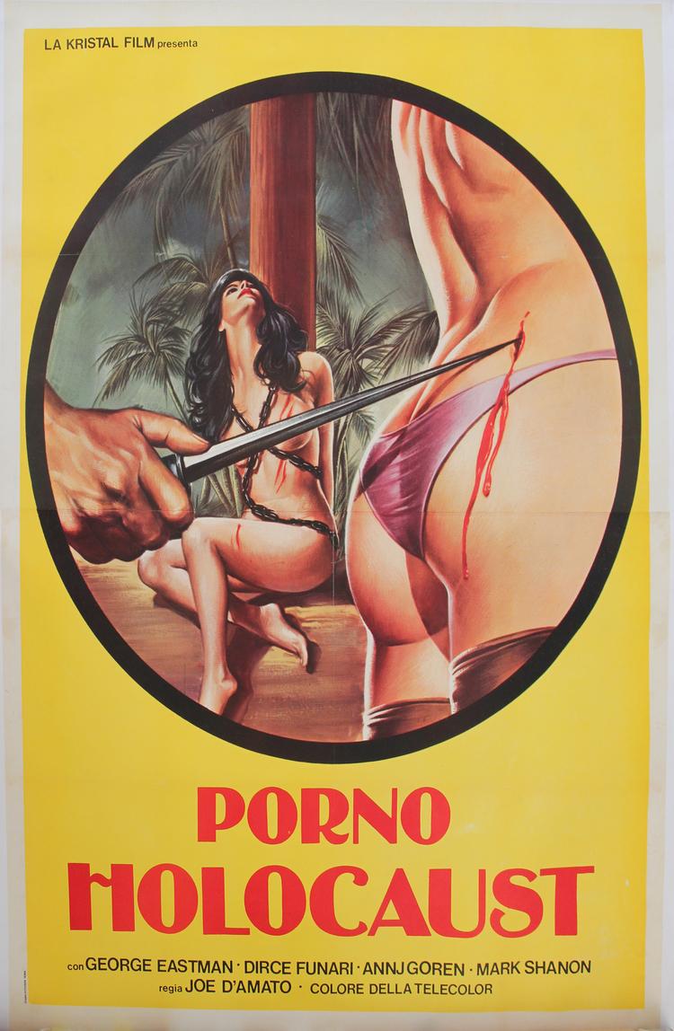 Porno Holocaust - Italian 4F Manifesto