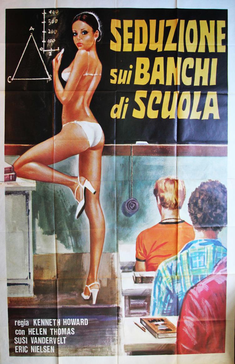 Seduction on School Desks - Italian 4F Manifesto