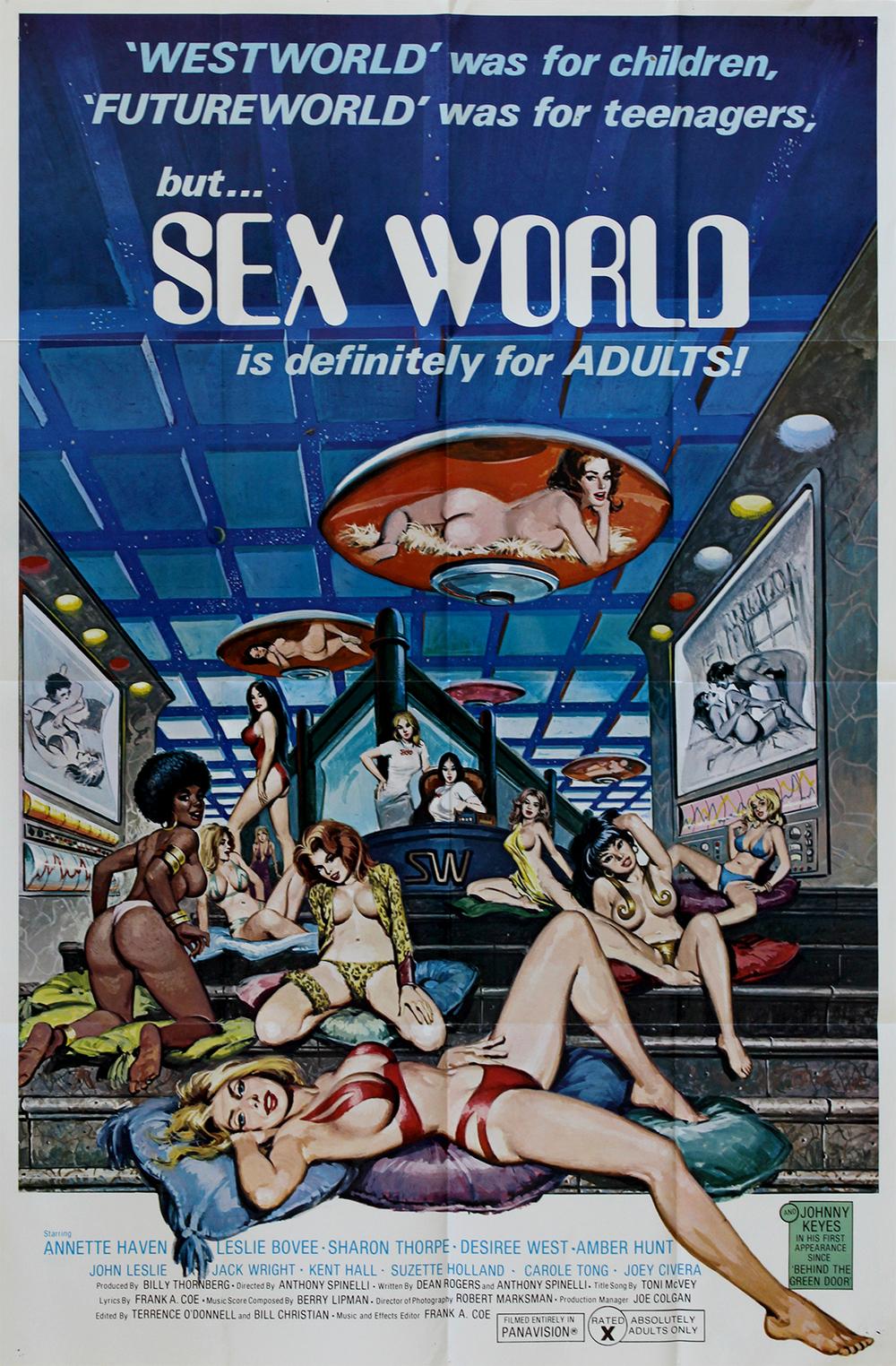 Sex World - US 1 Sheet