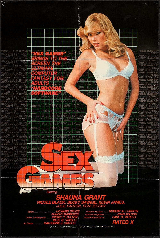 Sex Games - US 1 Sheet