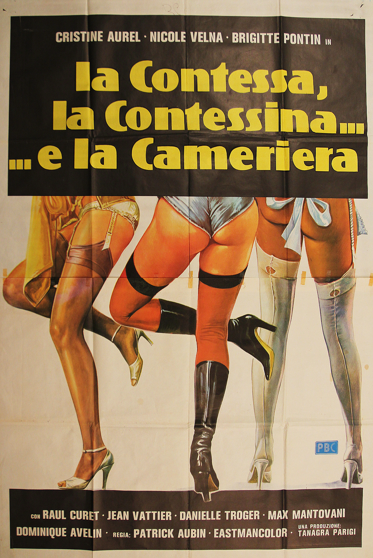 Sex Crazy - Italian Manifesto