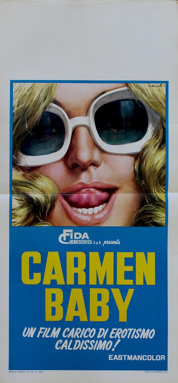 Carmen Baby - LOCANDINA