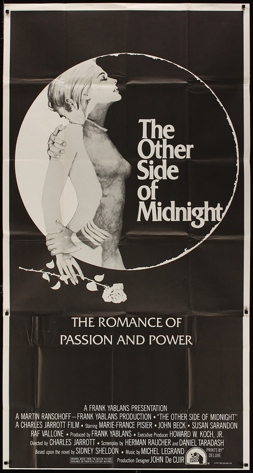 Other Side of Midnight - Int'l 3 Sheet