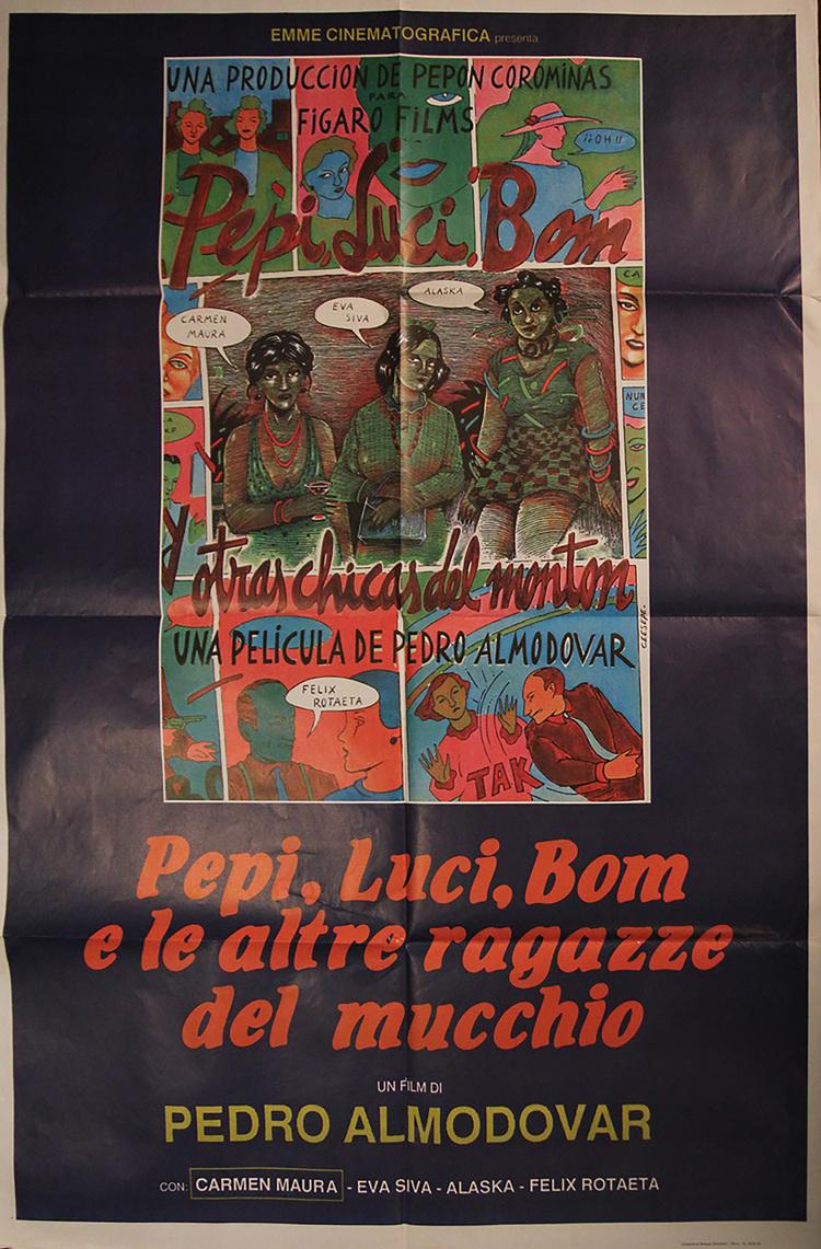 Pepi, Luci, Bom & Other Girls Like Mom - Italian 2F Manifesto