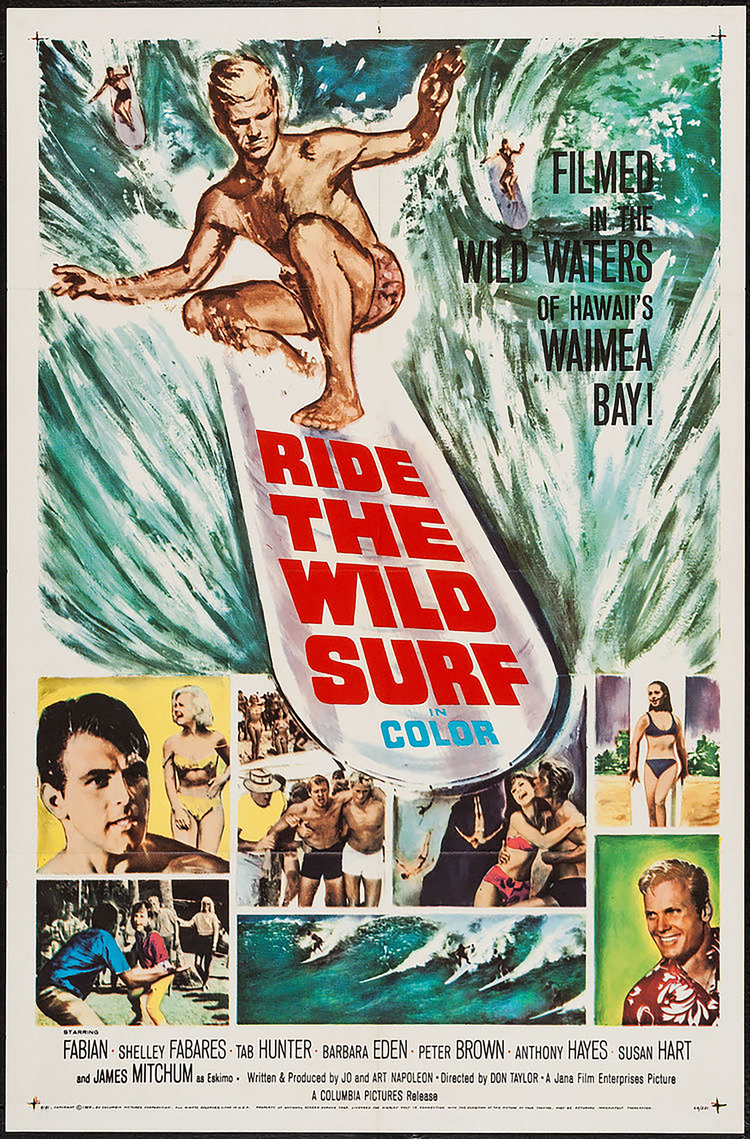 Ride the Wild Surf - US 1 Sheet