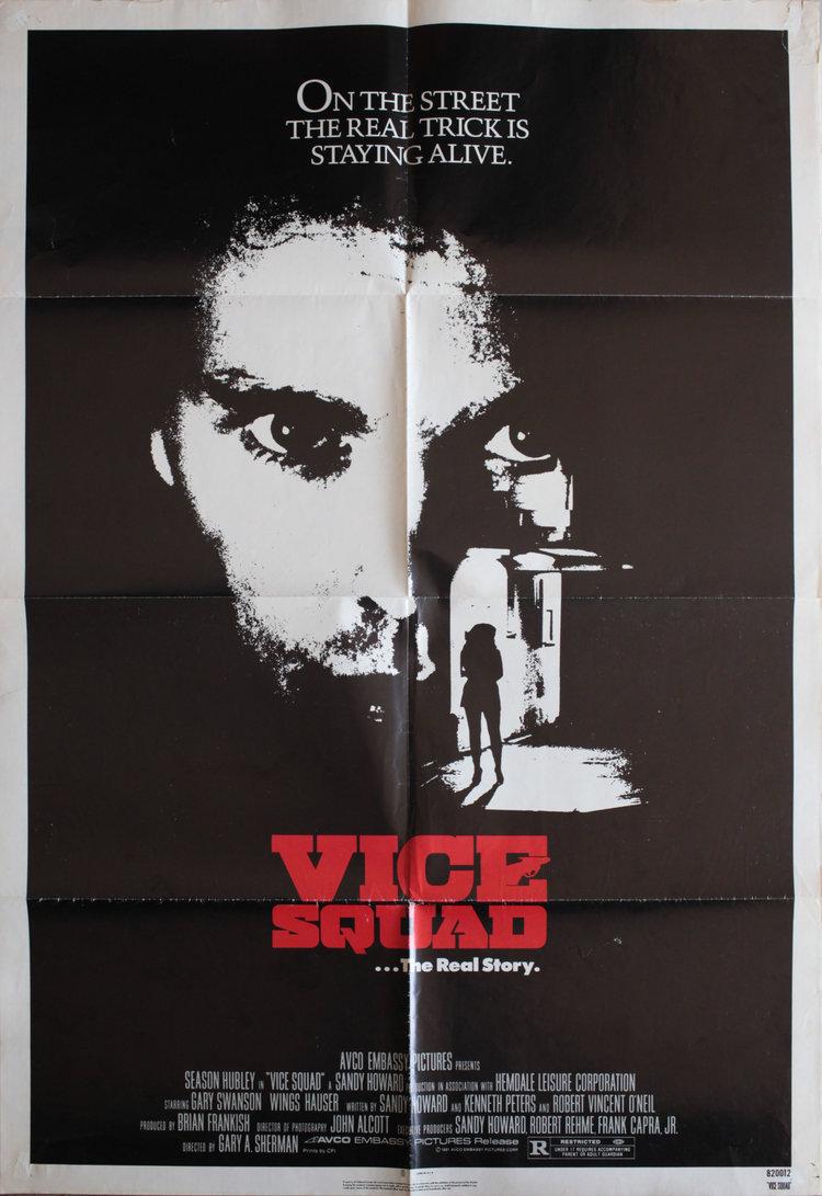 Vice Squad US 1 SHEET