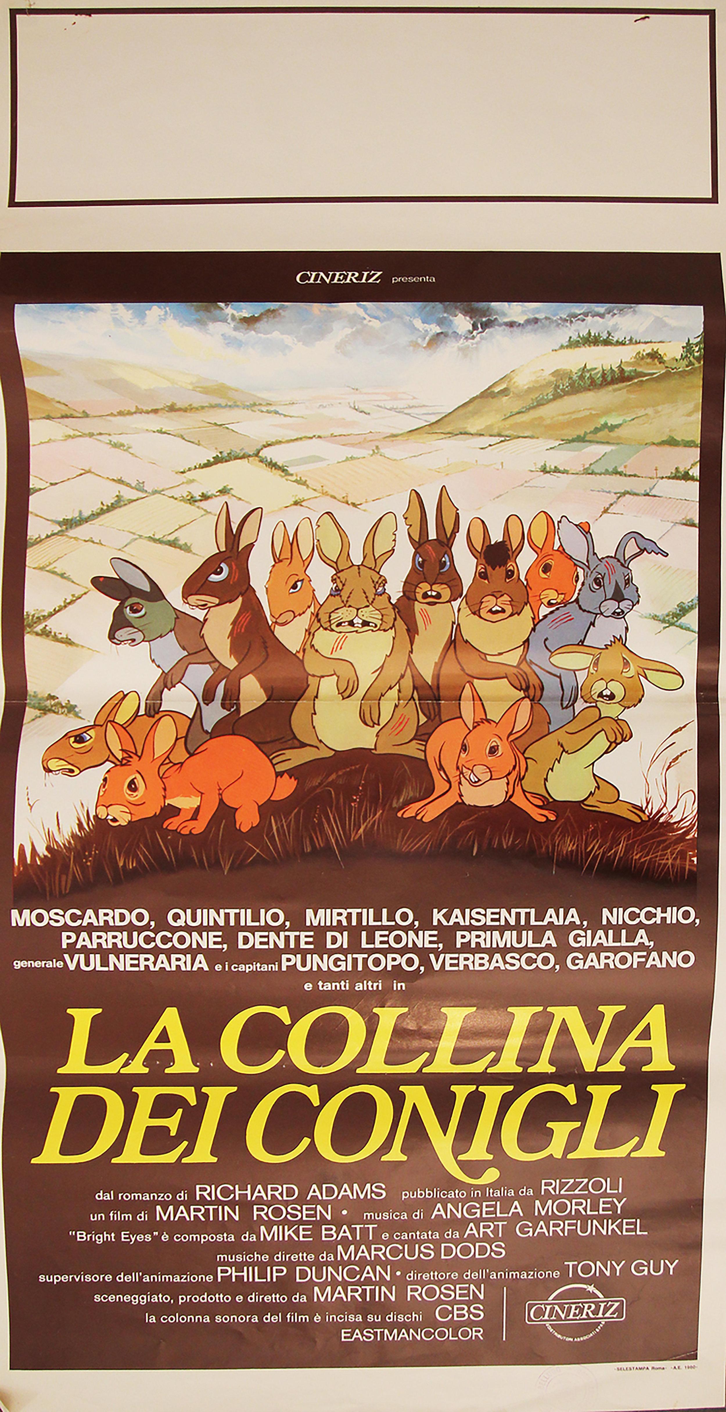 Watership Down - Italian Locandina