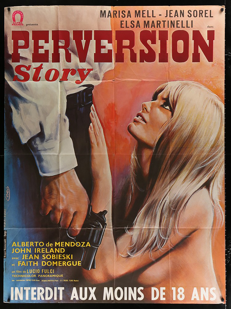 Perversion Story - French 46 x 61