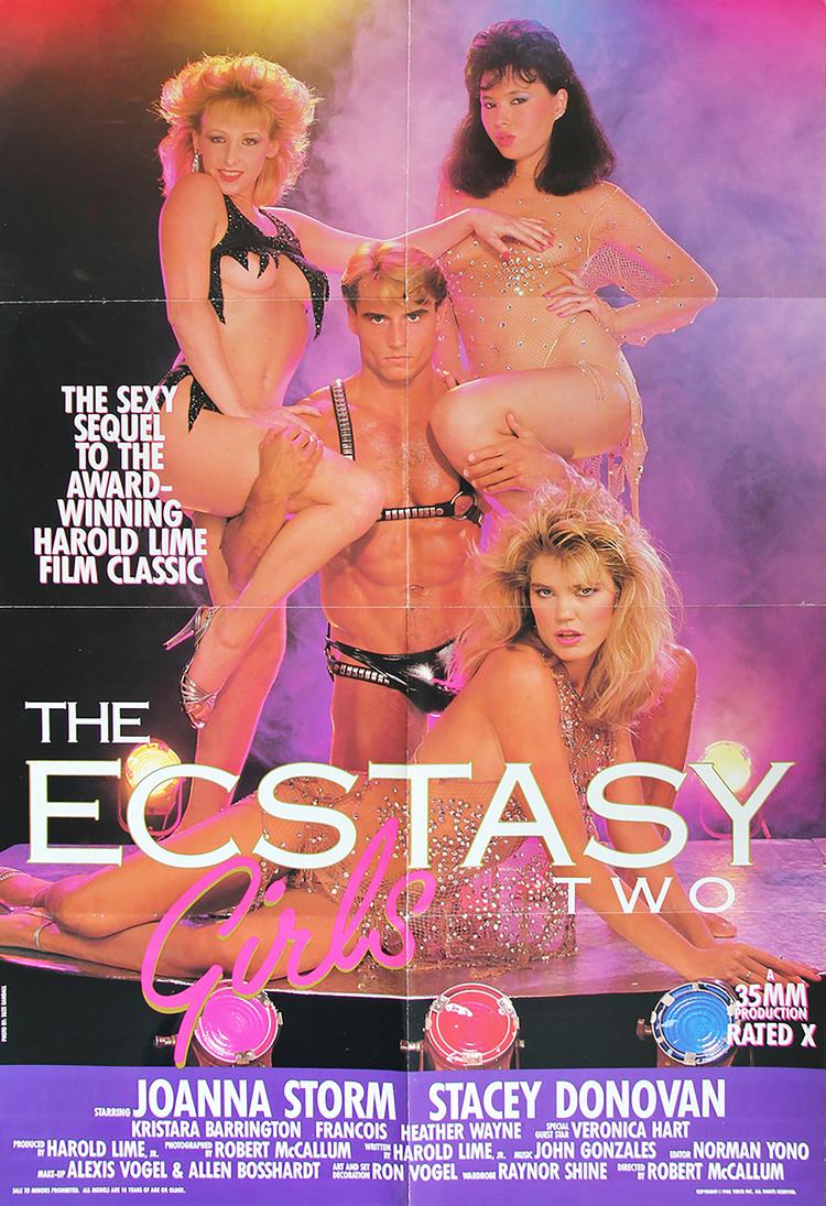 Ecstasy Girls II - US 1 Sheet