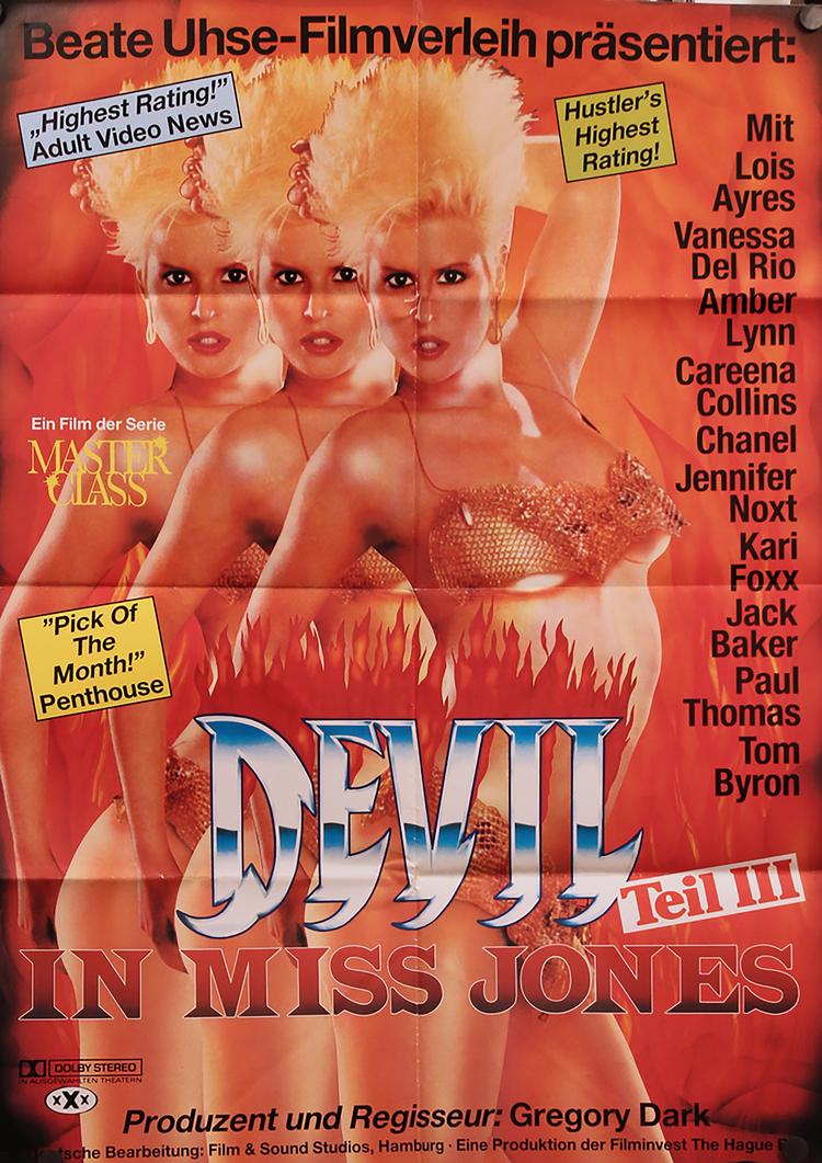 Devil In Miss Jones 3: A New Beginning - GERMAN