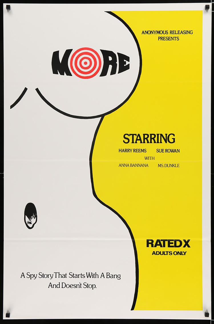 More (XXX) - US 1 Sheet