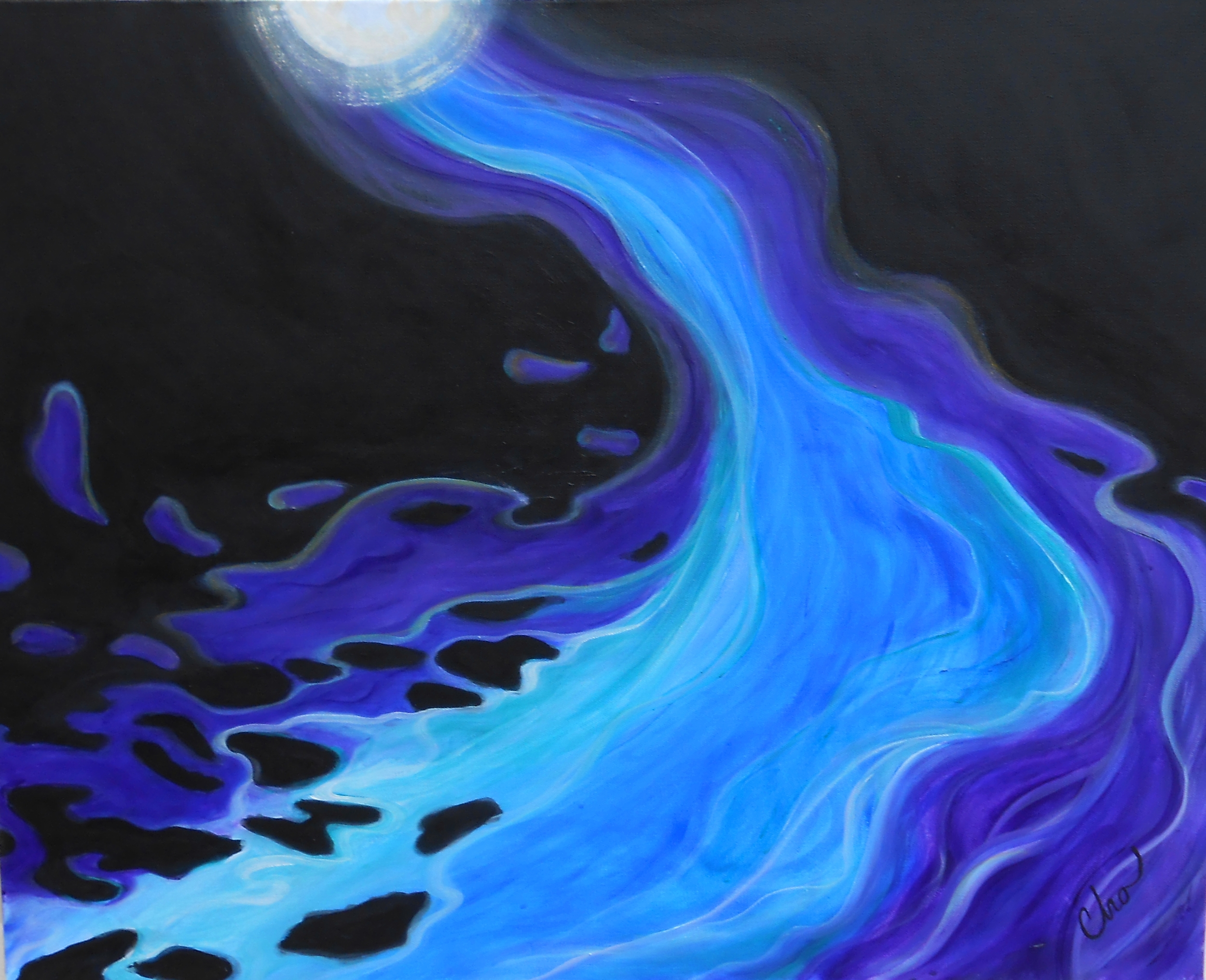 Emerging Flow--March 2013 24x30