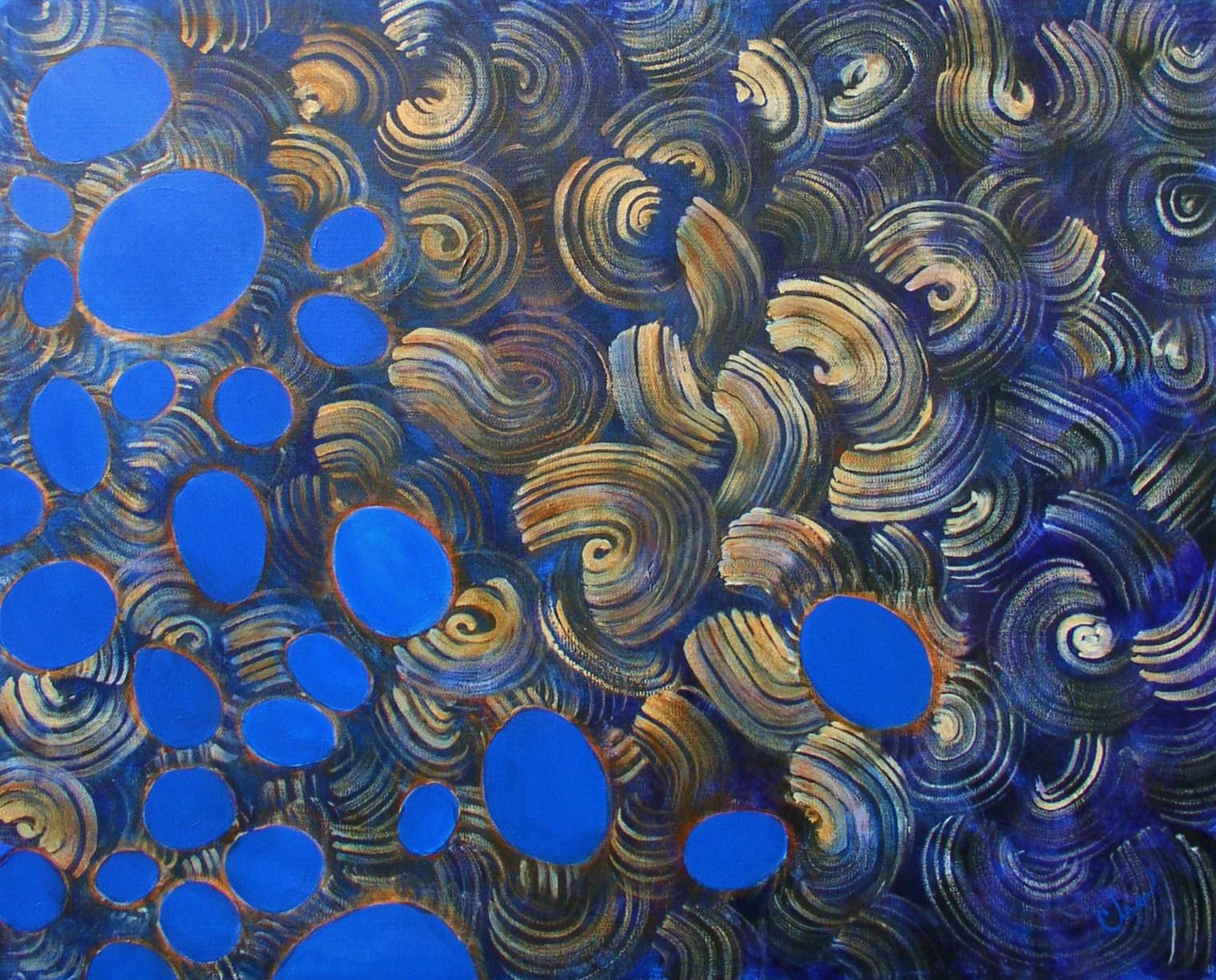 Bleu von Swerl--24x30--Dec 2010