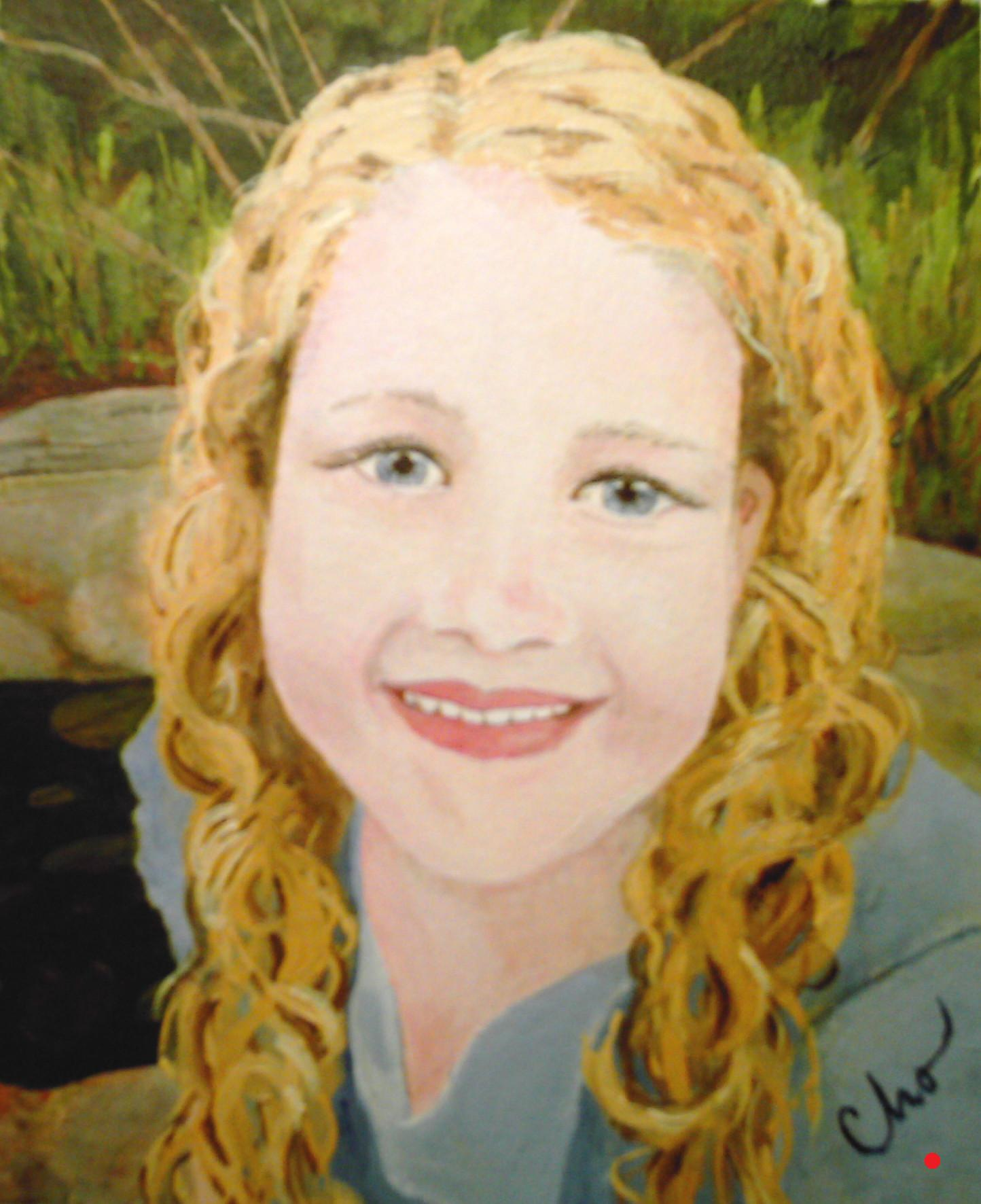 Lila's Portrait--8x10  Fall 2007