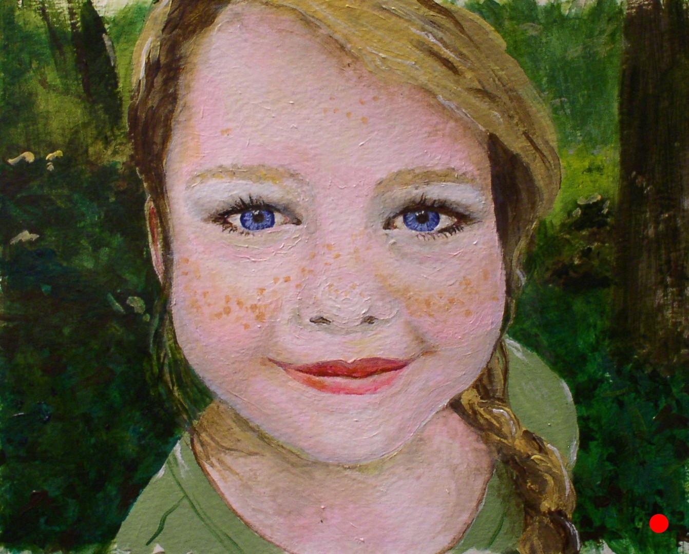 Talia's Portrait--8x10 Fall 2007