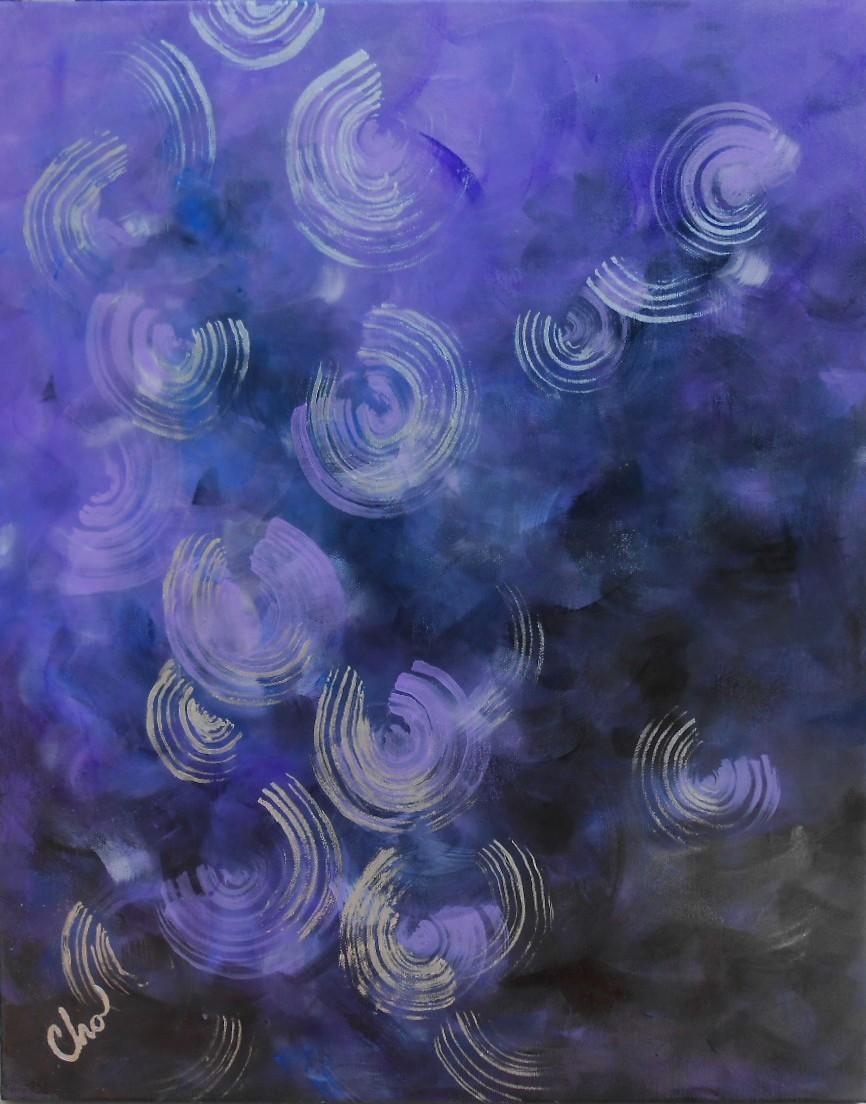 Lavender Moon Balm, July 2013, 20x16