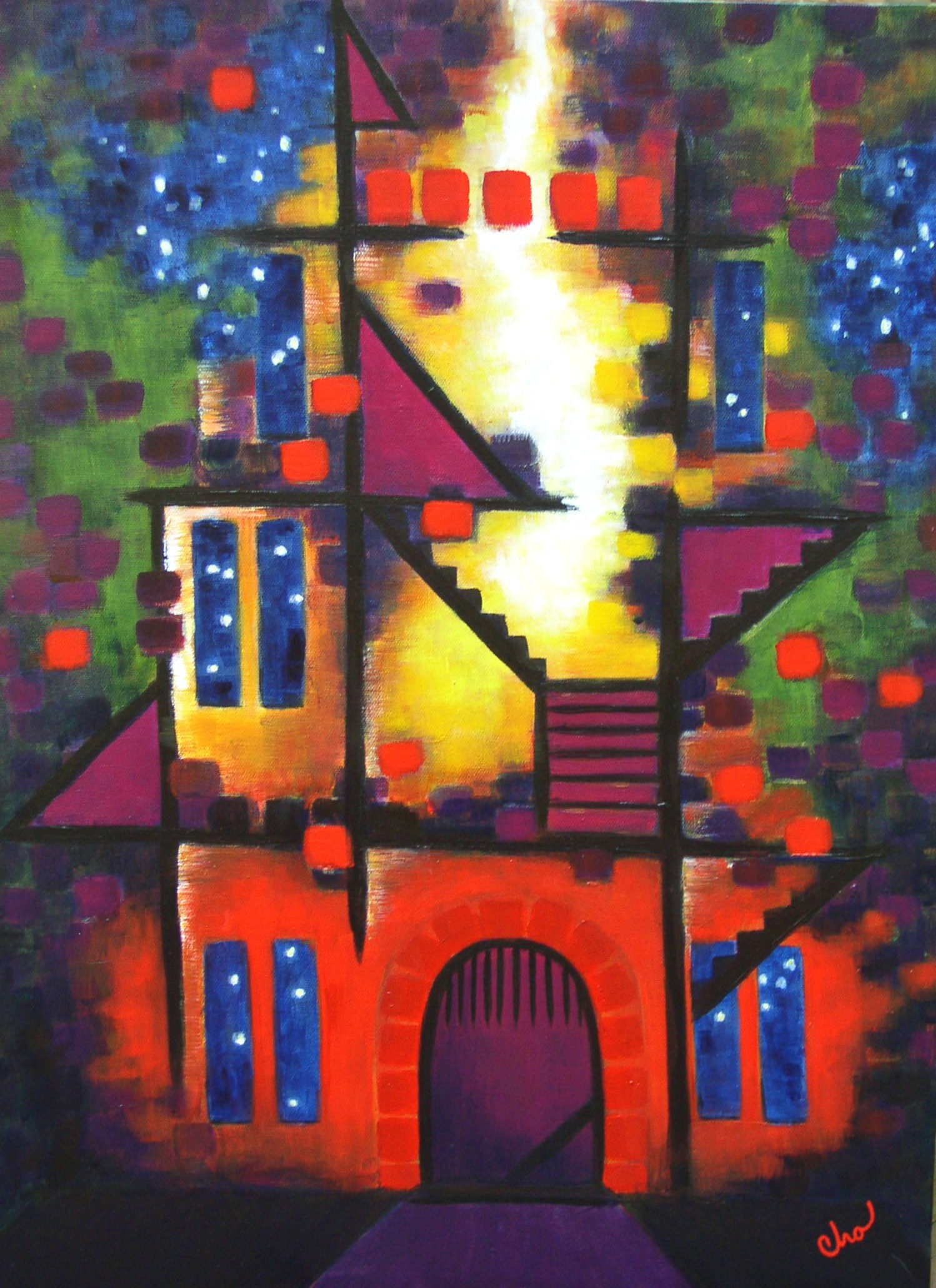 Fortification--Oct 2011 24x18-- $200