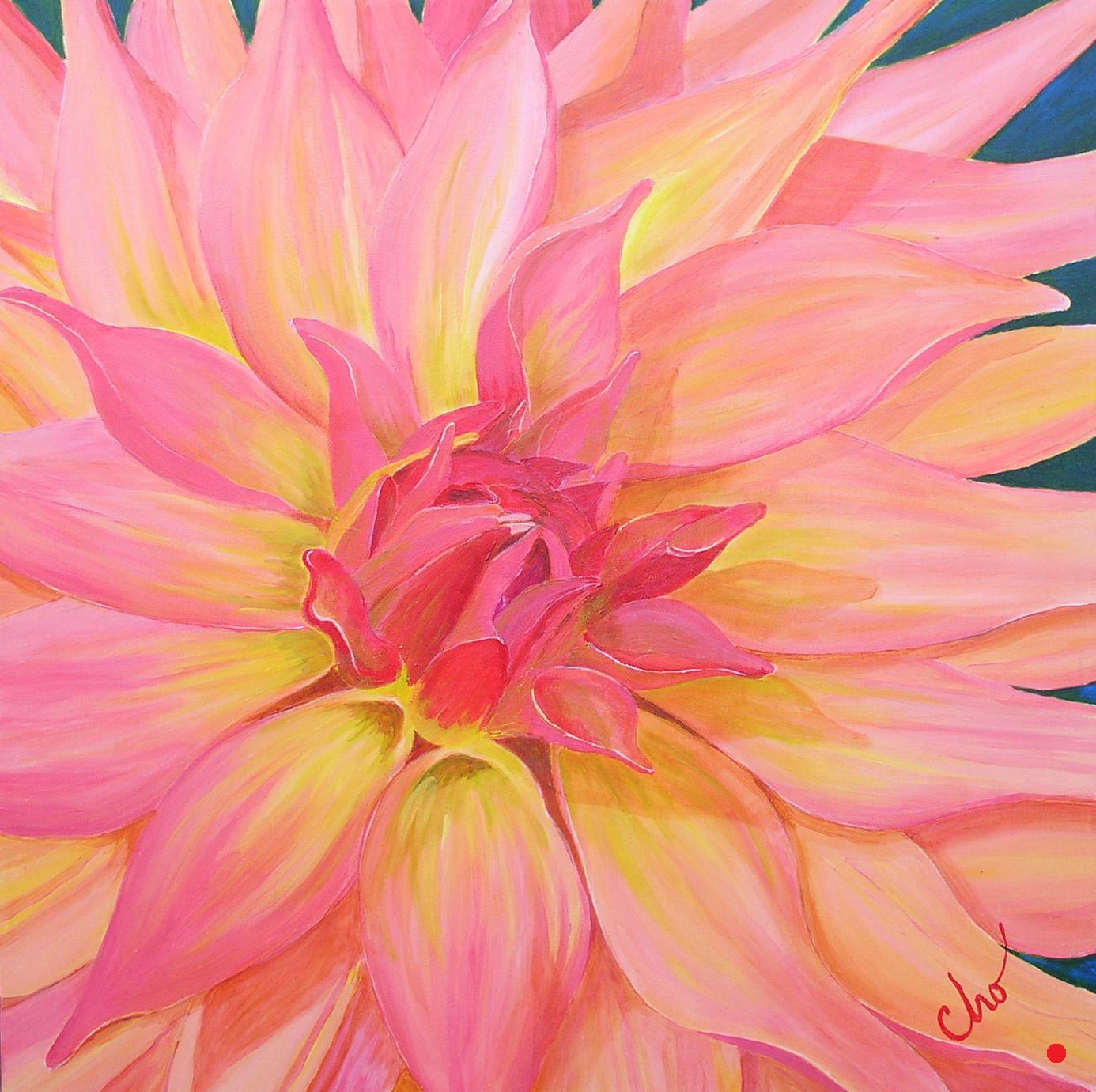 Apricot Dahlia 24x24 Nov08.jpg
