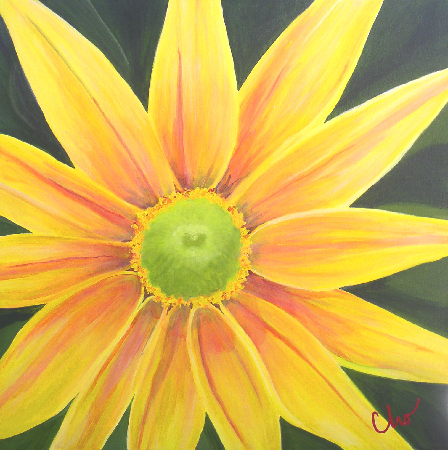 Yellow Flower 24x24 Jan09.jpg