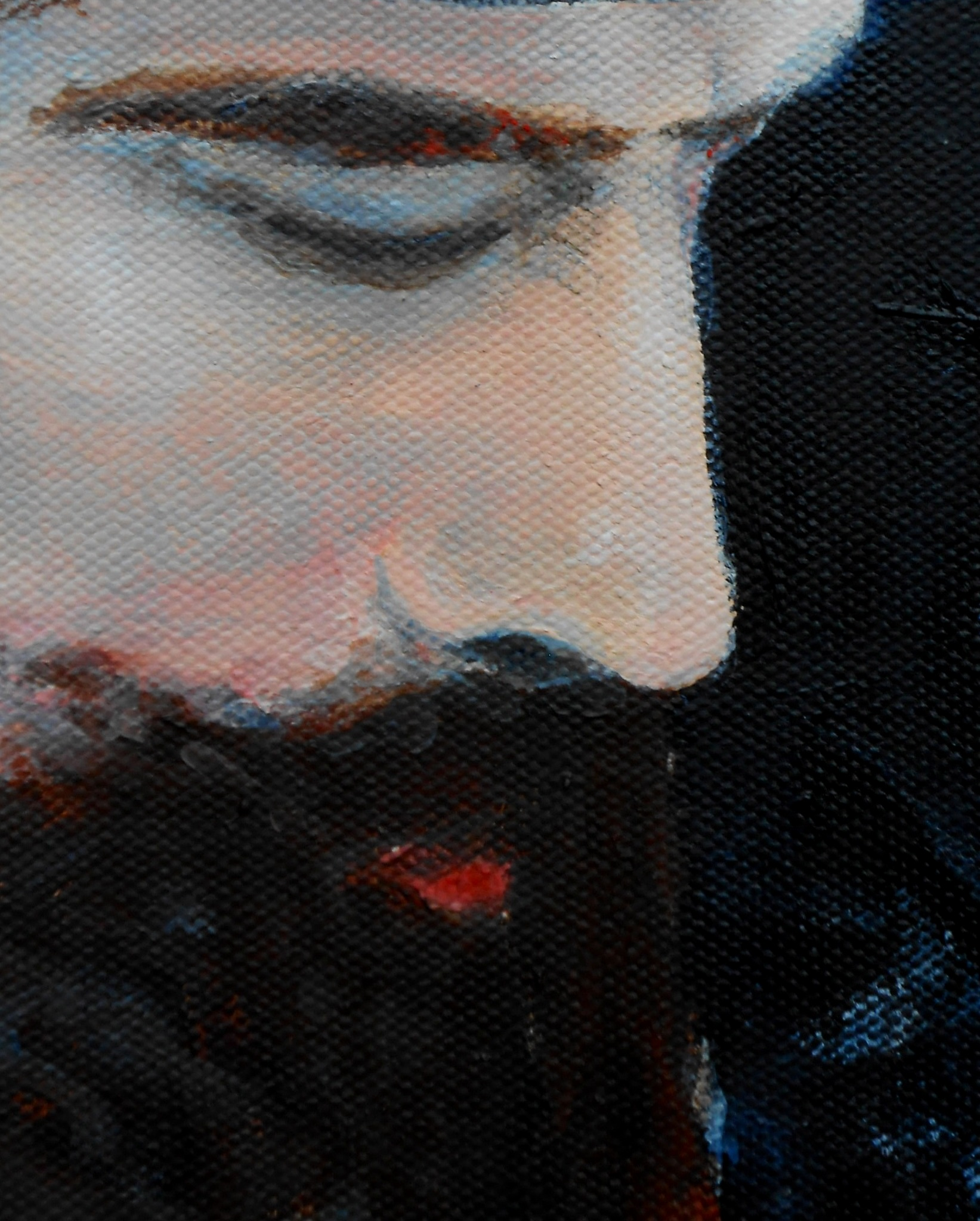 Hasid 9x12 August 2014 (detail 1).JPG