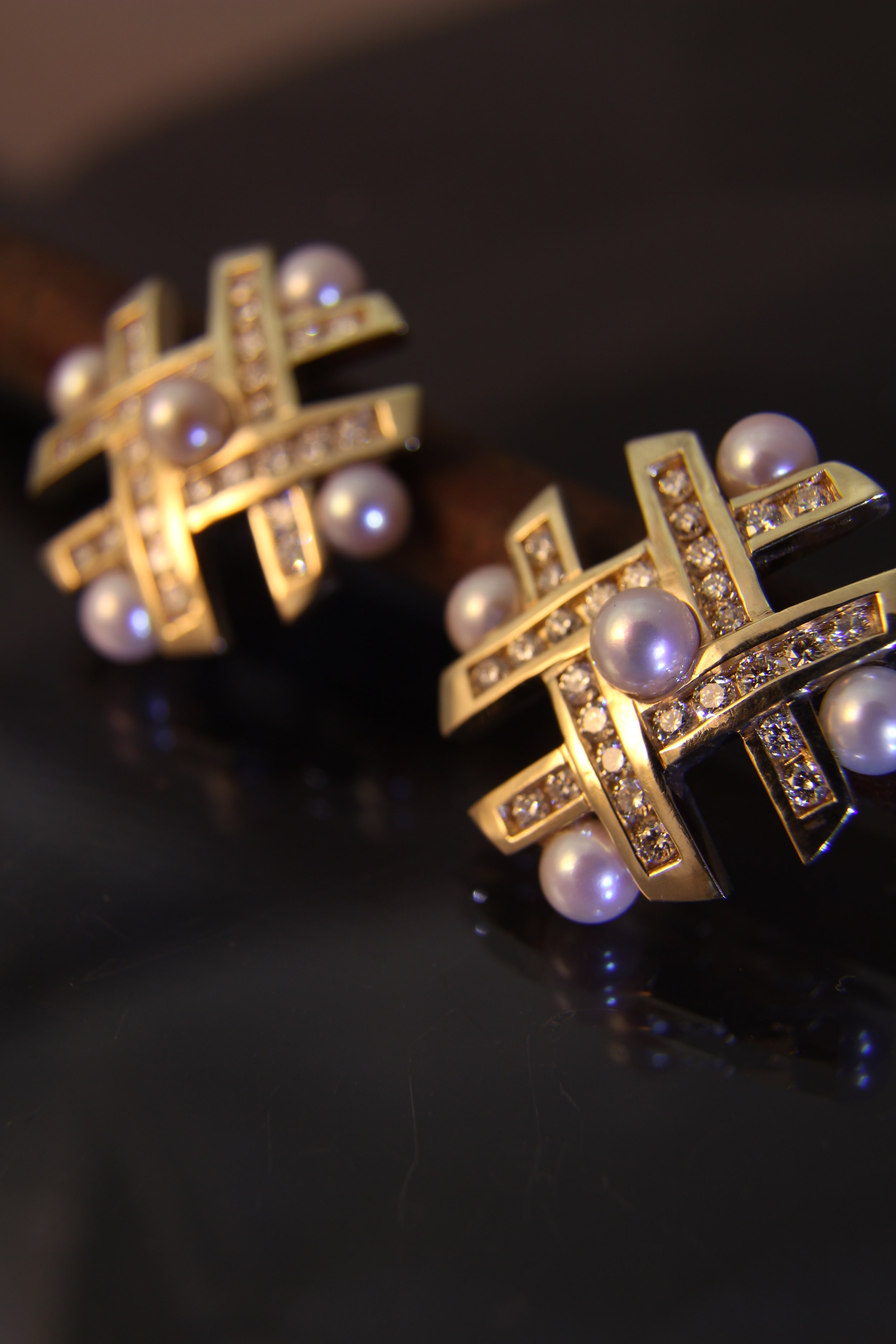 Diamond and Pearl Earrings.JPG