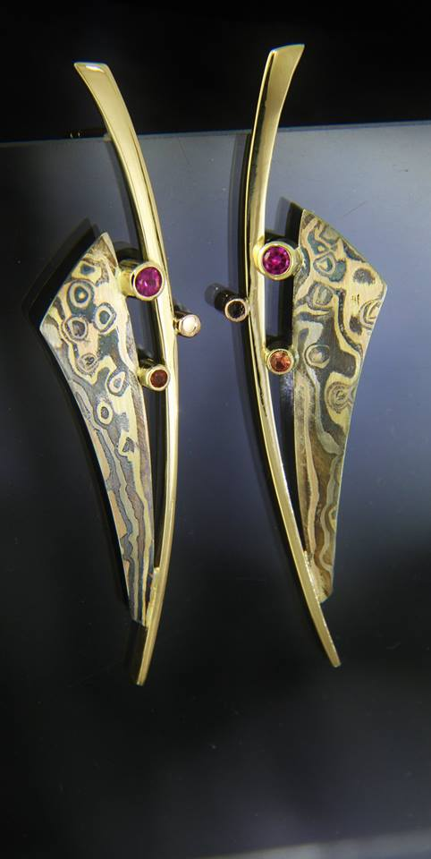 mokume sapphire earrings.jpg