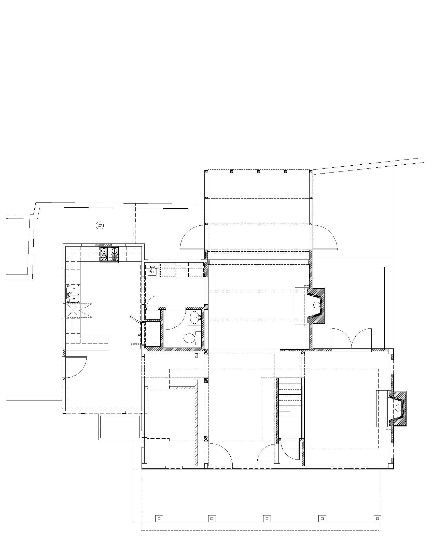 Revised First Floor Plan