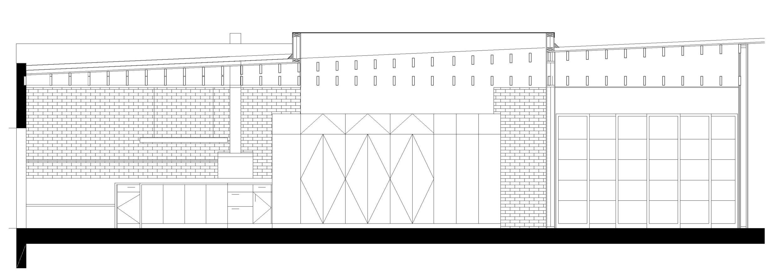 Section Through Unit 5