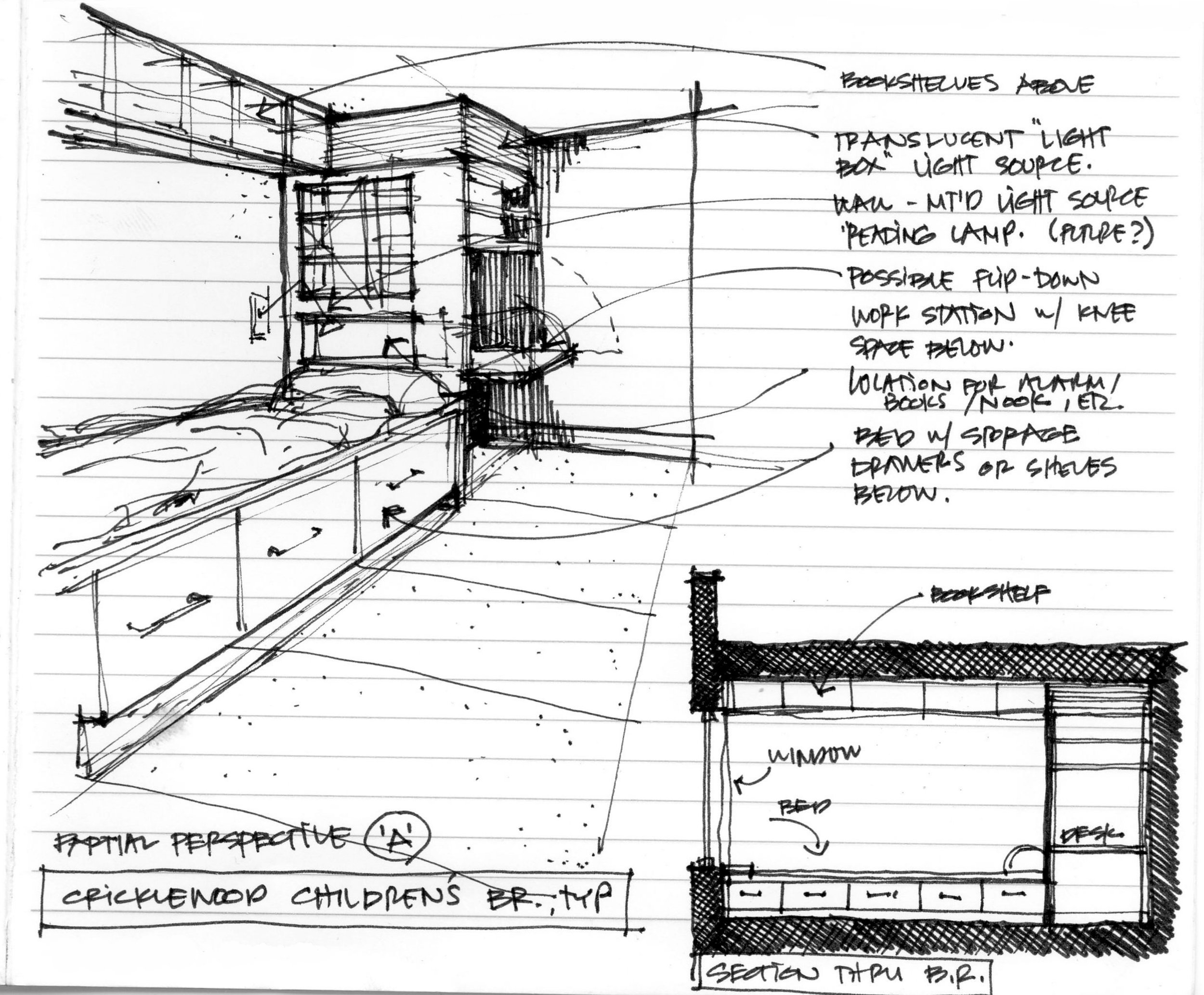 Children's Room Concept Sketch
