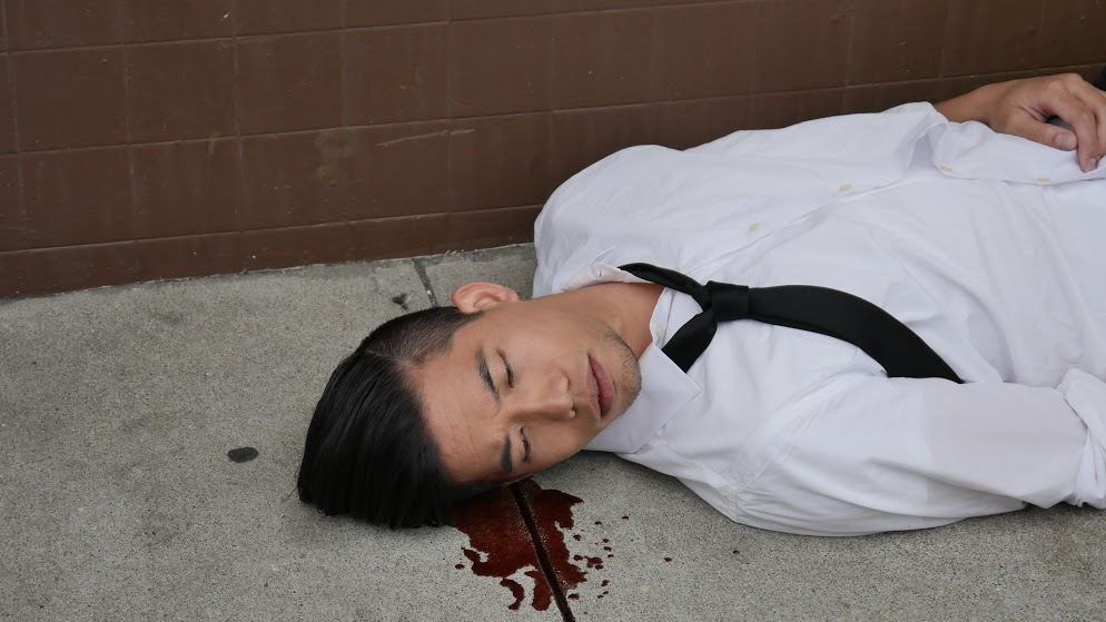 A still from Dreality, featuring actor, director and writer, Derrick Wong