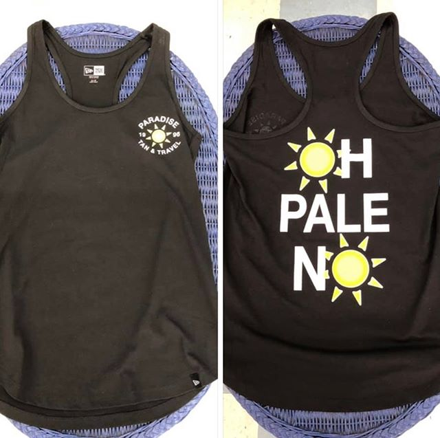 If you've been asking for a shirt or tank, they are in!! ☀️