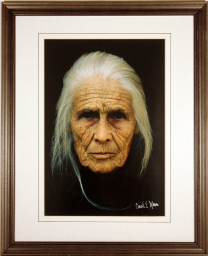Annie Call   , not dated photograph on paper Gift of the artist, 1996.2