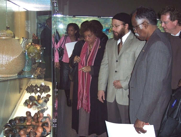 At Hickory Museum of Art in 2007