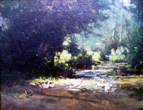 daingerfield-Geese by a Stream 1905.jpg