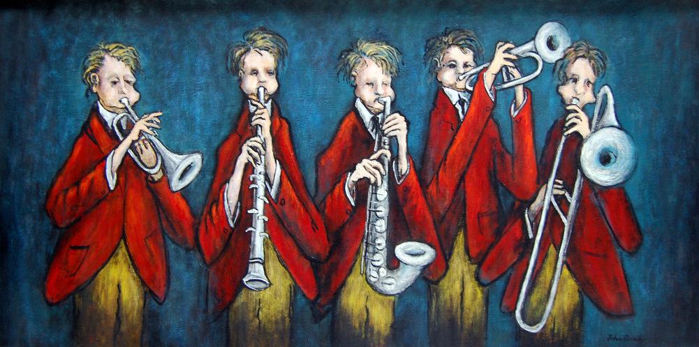John Brady's  Jazz! Gift of Mr. and Mrs. William Brown