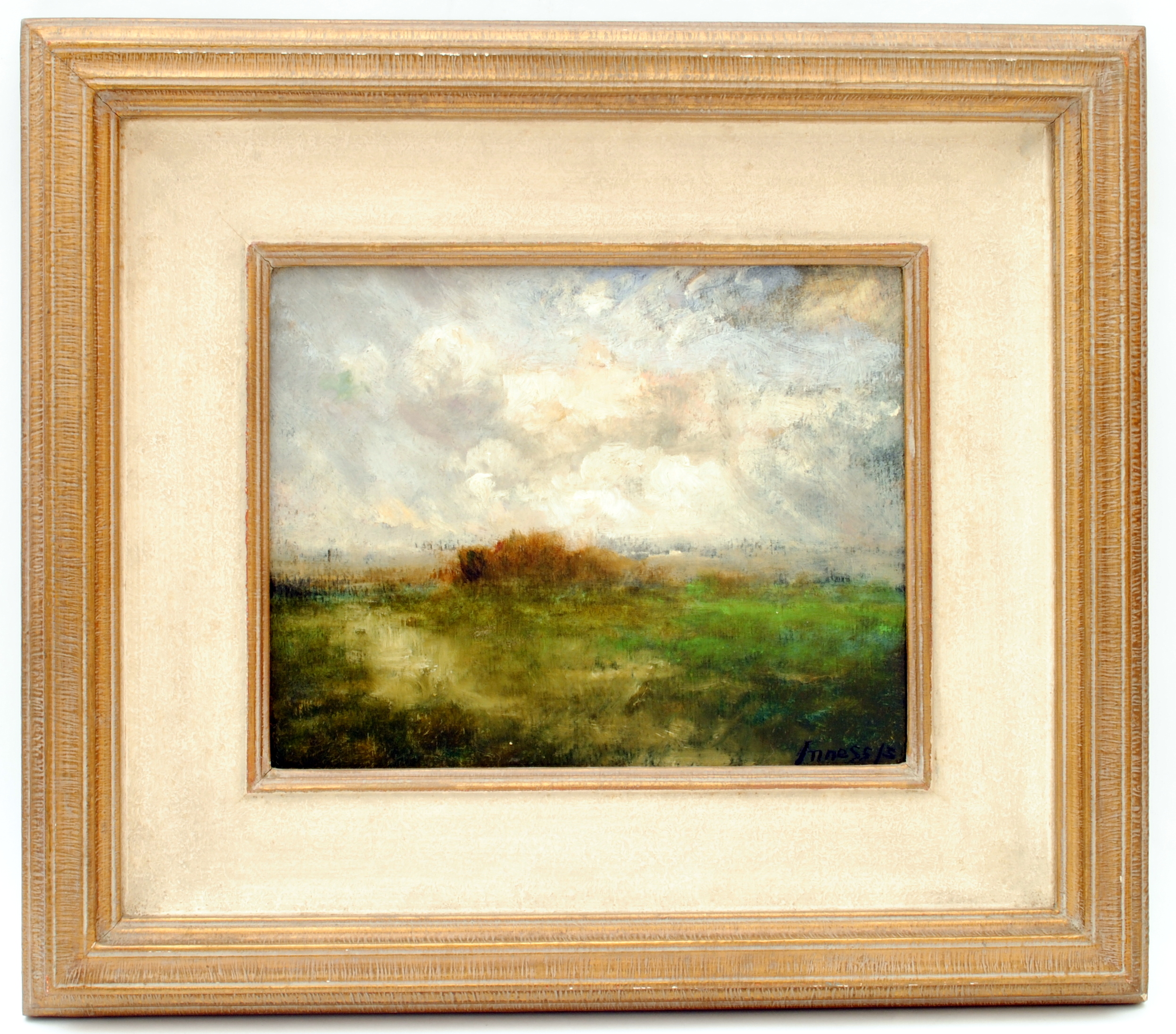 Across the Marshes , 1915 oil on panel Gift of Mr. and Mrs. Wilford S. Conrow 1954.12.1