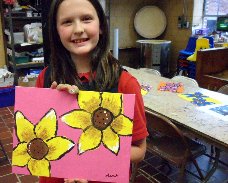 What mother wouldn't want a painting from their child on Mother's Day?