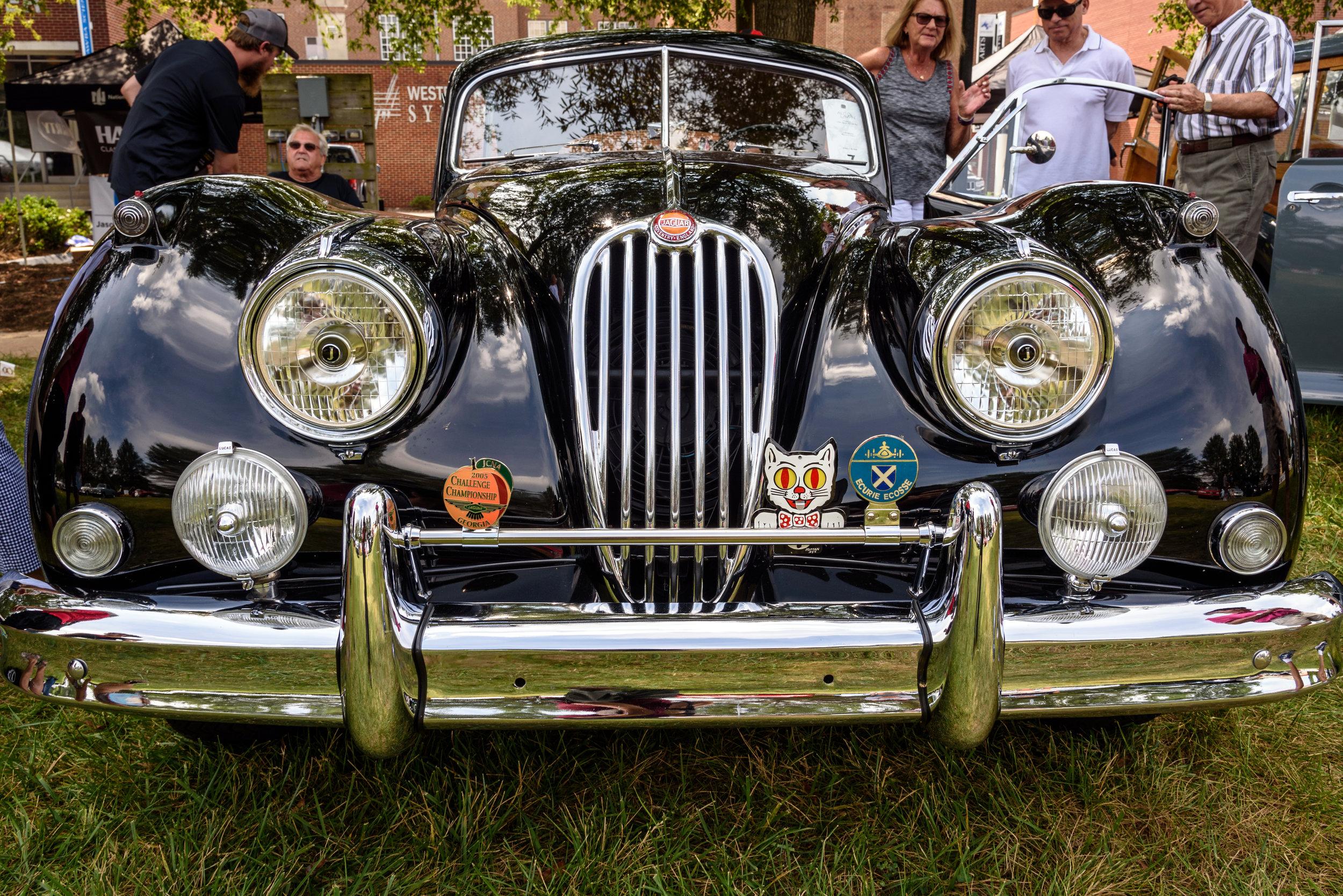 2018-09-09 Autolawn Devlin 1956 Jaguar XK140.jpg