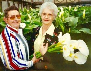 Harry & Joann Wilfong. Above: Joann Wilfong and Steve Brooks.