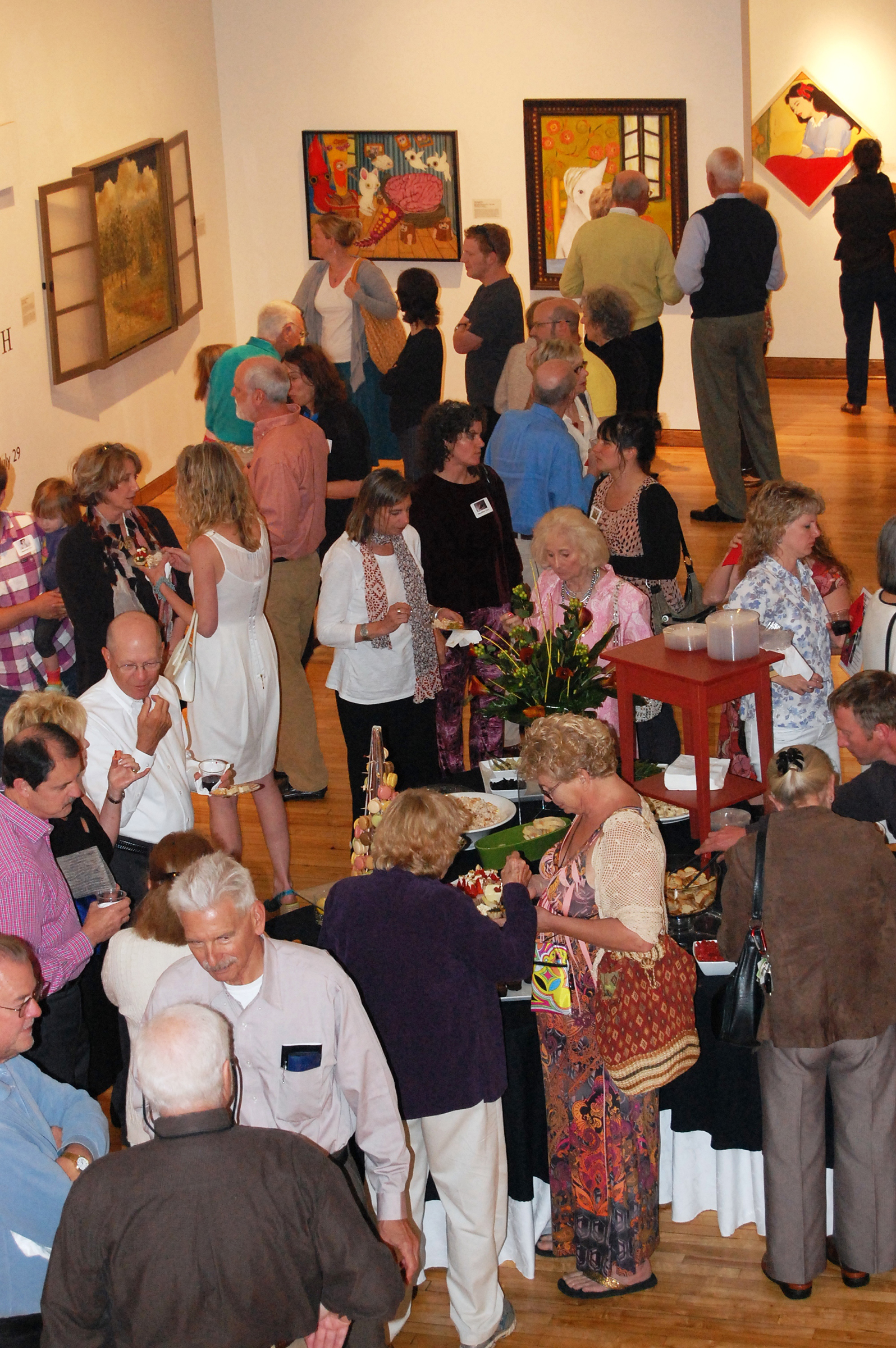 Opening reception for  WAKING UP WITH VAN GOGH