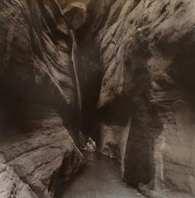 John Lankard in the Grand Canyon.