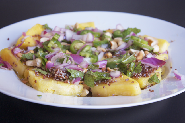 Pineapple Quinoa Salad
