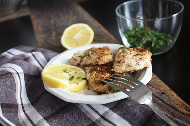 Almond Meal Chicken